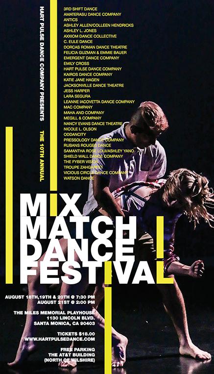 Mix Match Dance Festival